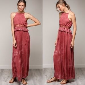 KENDRA Boho Vibes Maxi Dress